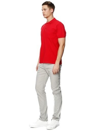 Limon Company Polo Yaka Tişört Kırmızı